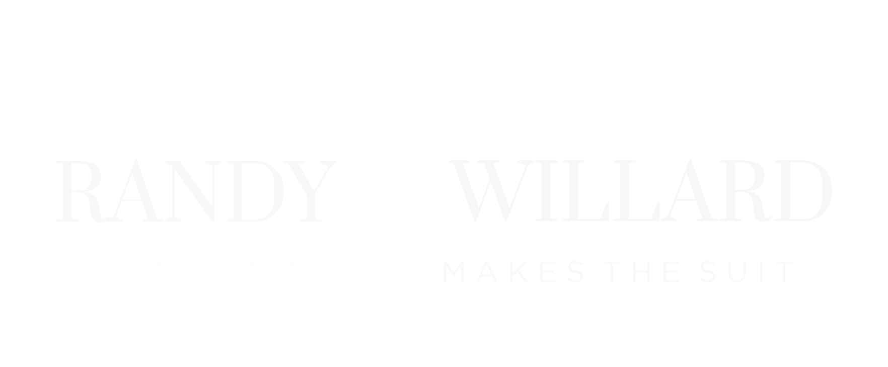 randy-willard-the-man-makes-the-suit-logo